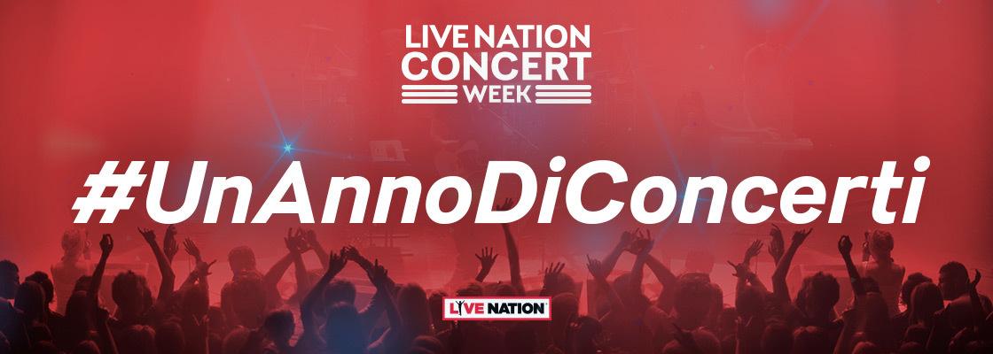 Vinci un anno di concerti Live Nation!