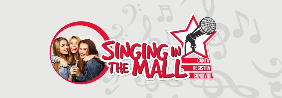 SINGING IN THE MALL