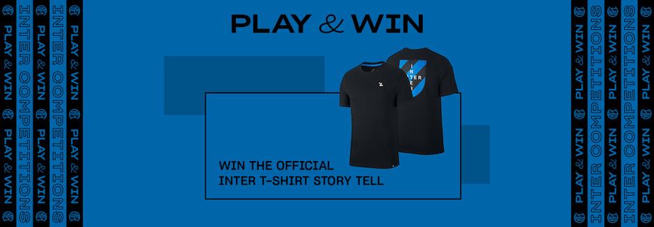 WIN THE INTER T-SHIRT!