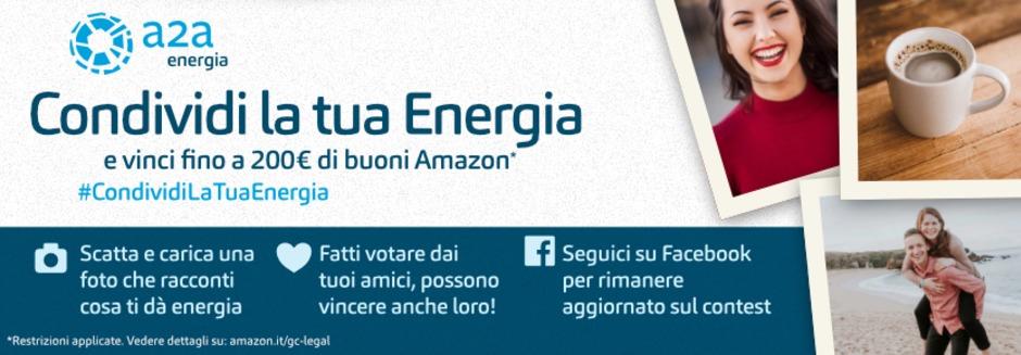 #CondividiLaTuaEnergia