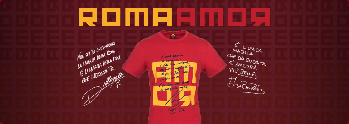SEND YOUR LOVE MESSAGE FOR AS ROMA