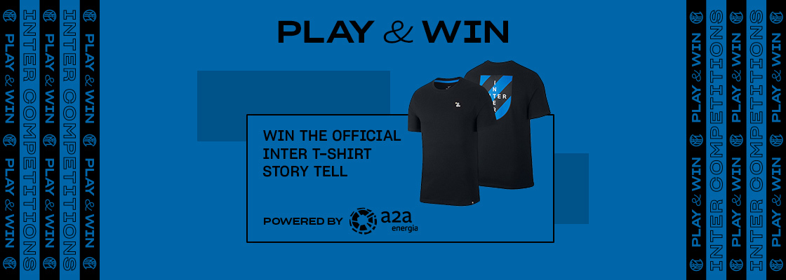 WIN THE INTER T-SHIRT!