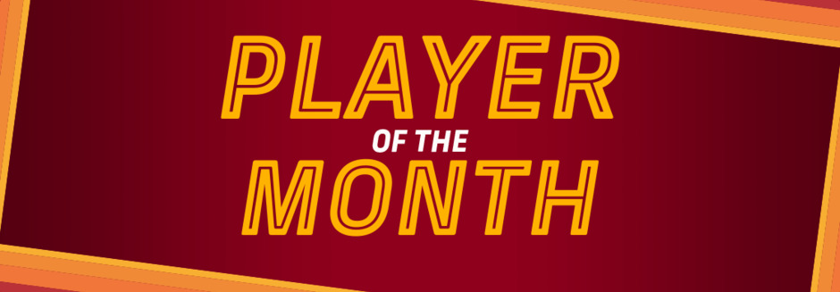 PLAYER OF THE MONTH - FEBRUARY
