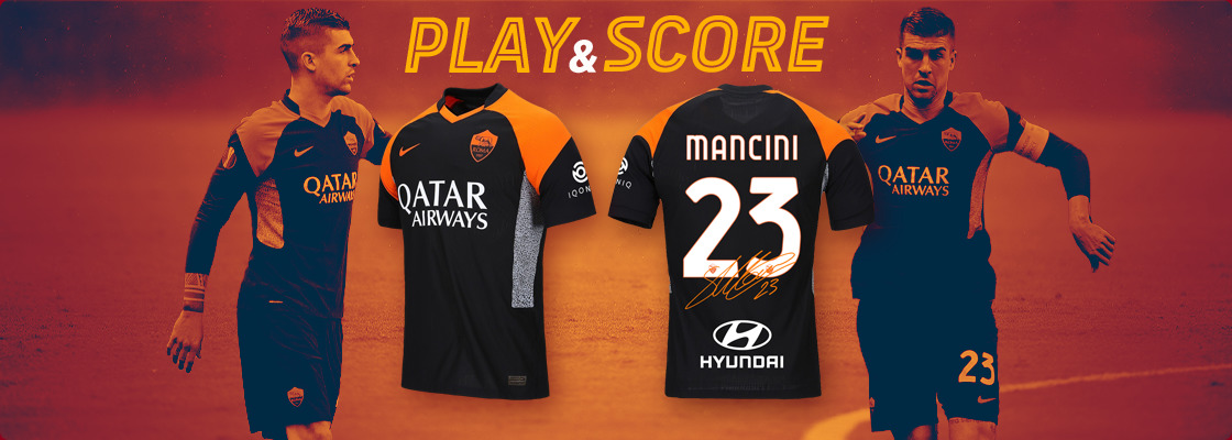 WIN THE SIGNED THIRD JERSEY