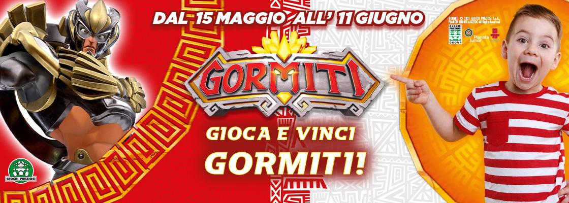Gioca e Vinci Gormiti!