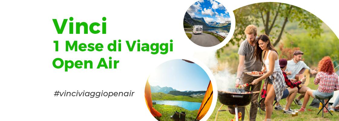 Vinci 1 Mese di Viaggi Open Air
