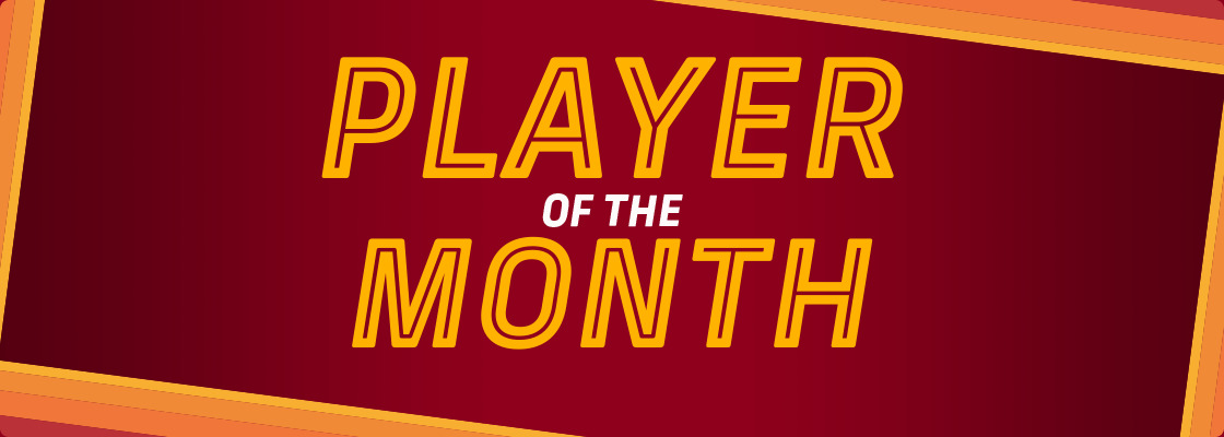 PLAYER OF THE MONTH - MAY