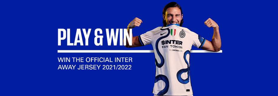 WIN THE AWAY JERSEY!