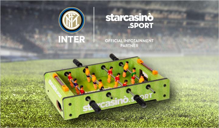 Vinci il biliardino StarCasinò Sport!
