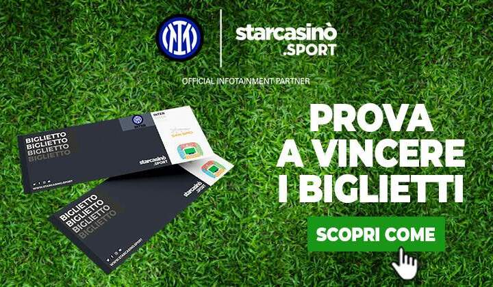 Con StarCasinò Sport vinci San Siro!